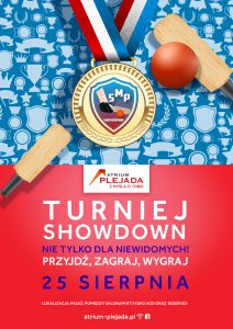 Plakat V turnieju showdown