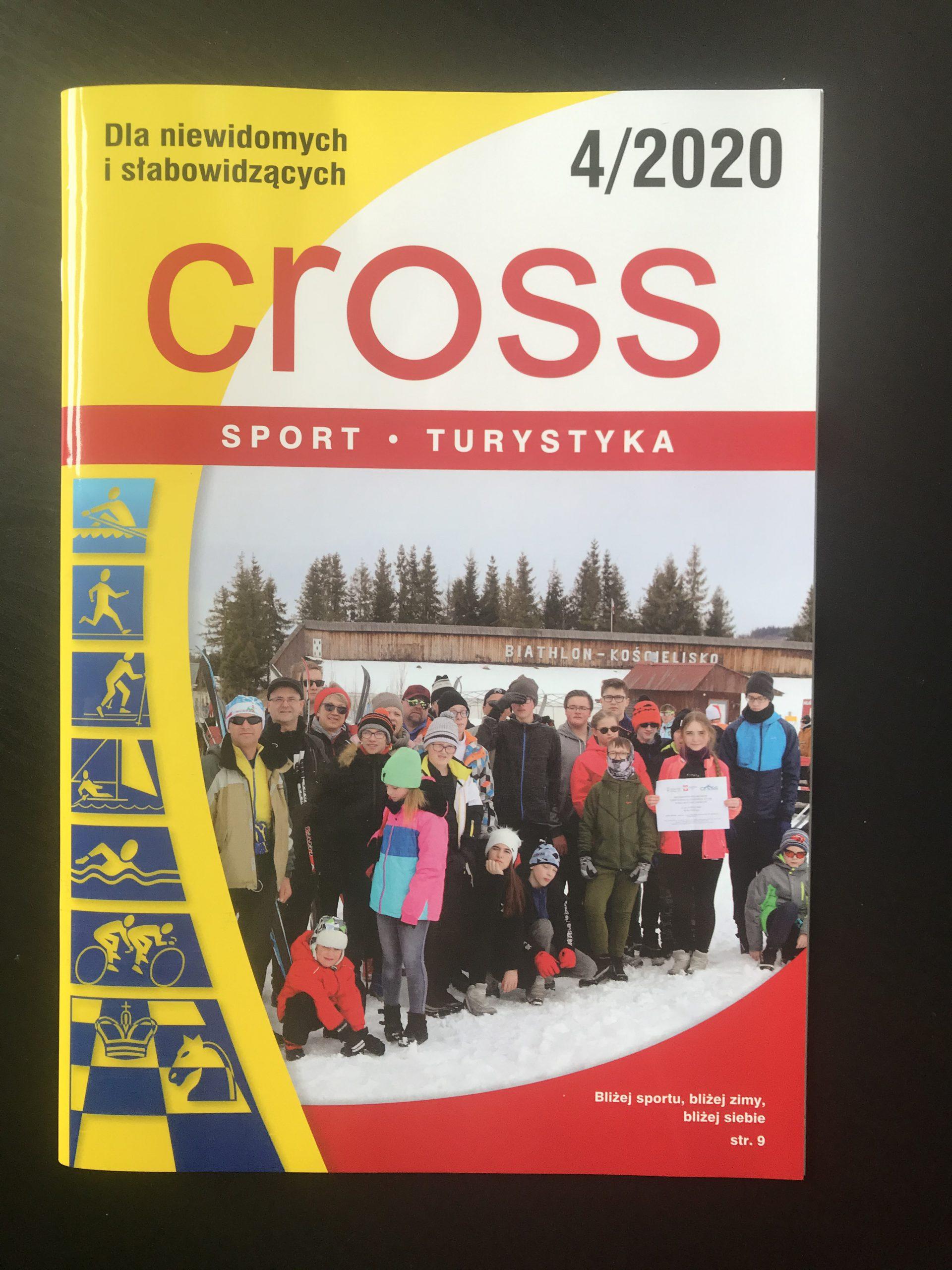 "Okładka miesięcznika ""CROSS"" nr. 4/2020"
